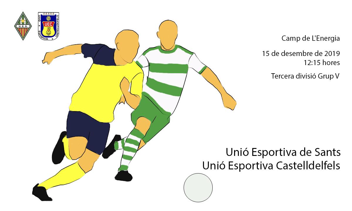 U.E. Sants - U.E. Castelldefels