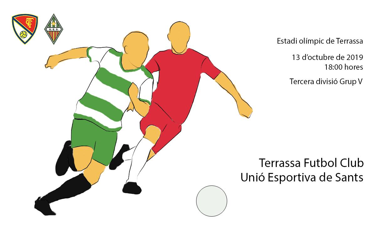 Terrassa F.C. - U.E. Sants