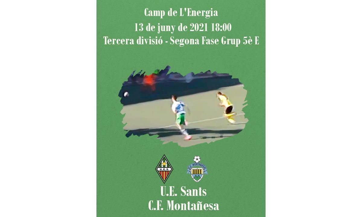 U.E. Sants - C.F. Montañesa